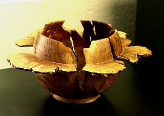 Carving - Saturn Bowl - Manzanita Root by John Marquardt.jpg