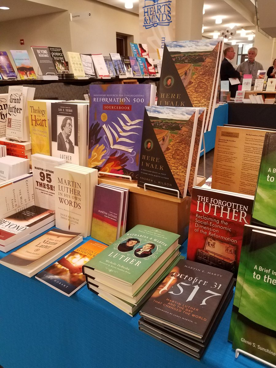 Luther books at Synod 17.jpg