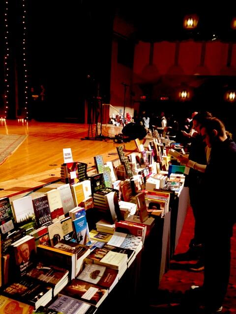 book browsing at CFW by stage.jpg