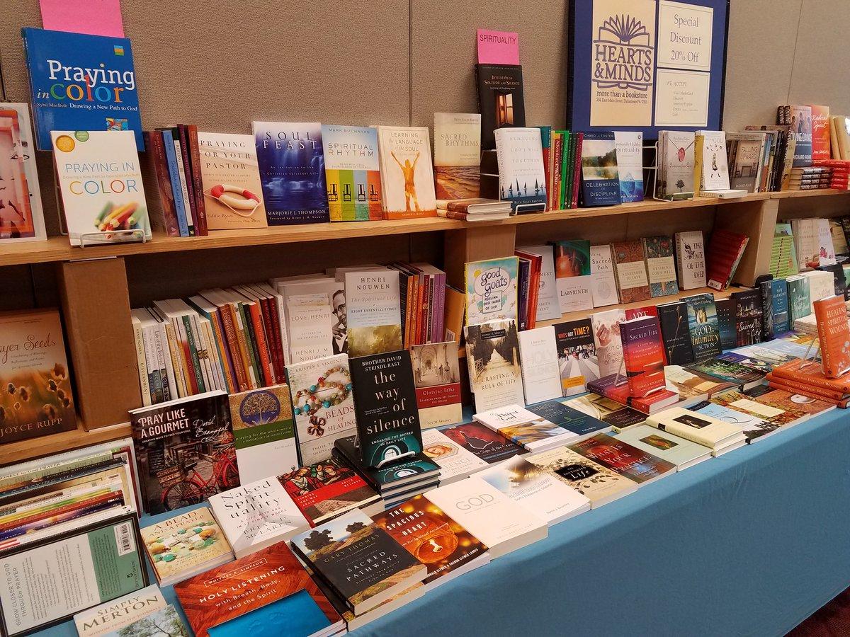spirituality books at Penn Central.jpg